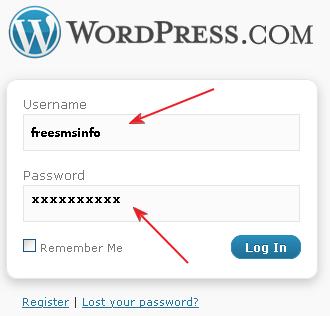 Wordpress free blog favicon icon in the addressbar