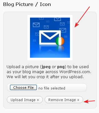 Wordpress Blog/Picture Icon after Crop