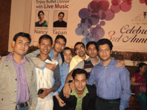 Dinner Party in Ambrosia Chittagong, bachelor group