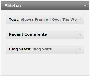 Text Widget WordPress