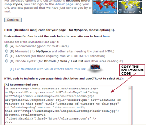 Viewers Location widget for wordpress free blog