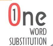bank job written test one word substitution