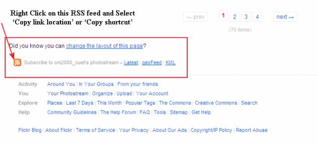 flickr galery in wordpress