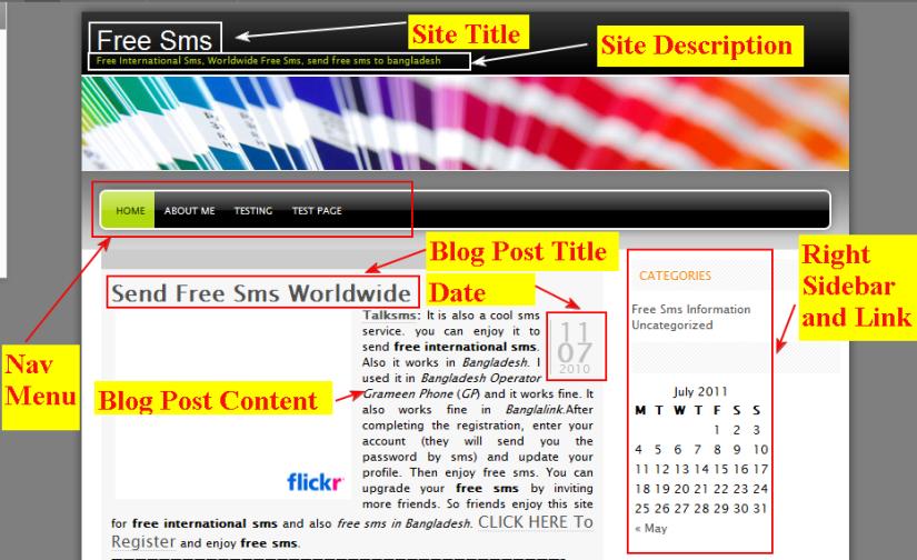 Wordpress Theme Freshy by Jide