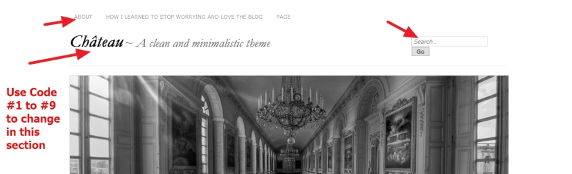 theme chateau by ignacio ricci header modification