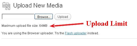 ... Increase your wordpress sites maximum media uploading capacity to 64MB: allaboutbasic.com/2011/10/25/godaddy-php5-ini-memory-limit-increase...