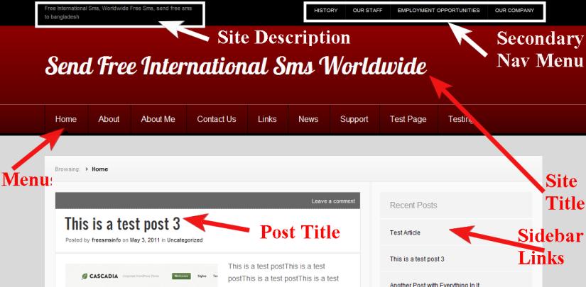 Wordpress  Theme Nuntius