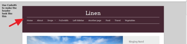 premium theme linen modification documentation