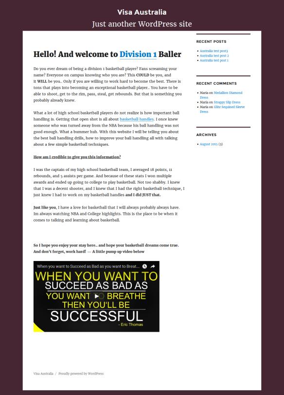 WordPress Twenty Sixteen (2016) theme modifications : Change