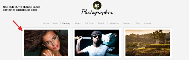Photographer  By  Organic  Themes  archive  page  Modifications