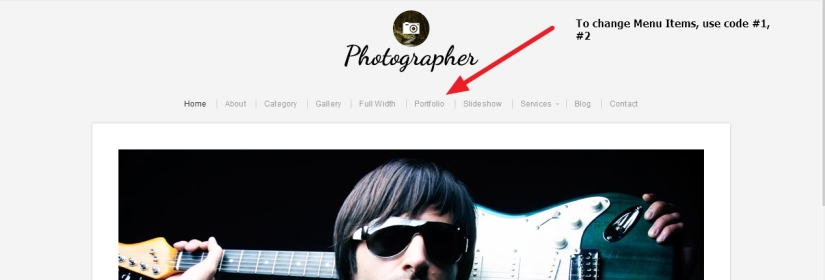 Photographer By Organic Themes Modifications