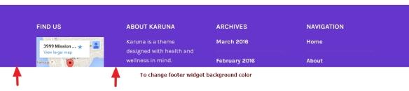 Health, Wellness and Yoga based wordpress Karuna theme: css