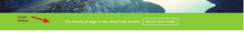theme karuna green ribbon modification