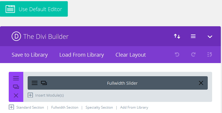 Divi mage slider clickable
