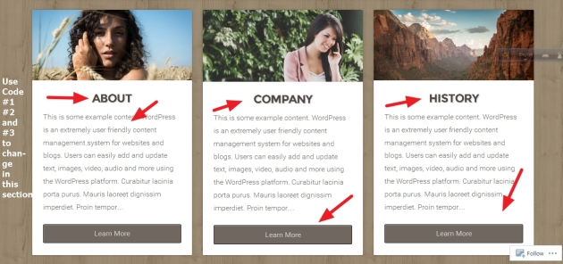 theme natural by organic themes homepage featured page modification