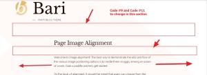 Theme Bari width customization