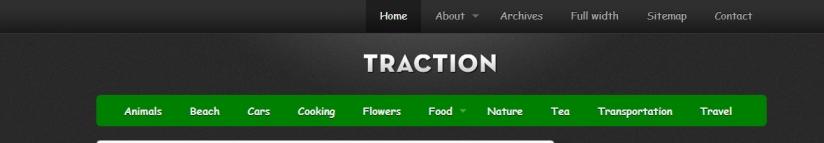 Traction Theme Logo Image center