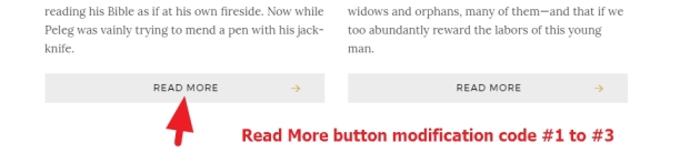 Read More button color modification