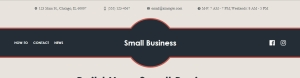 theme for small business