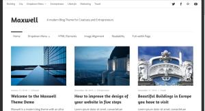 Maxwell By ThemeZee help support customization documentation