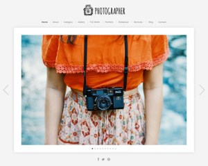 wordpress theme for photographer