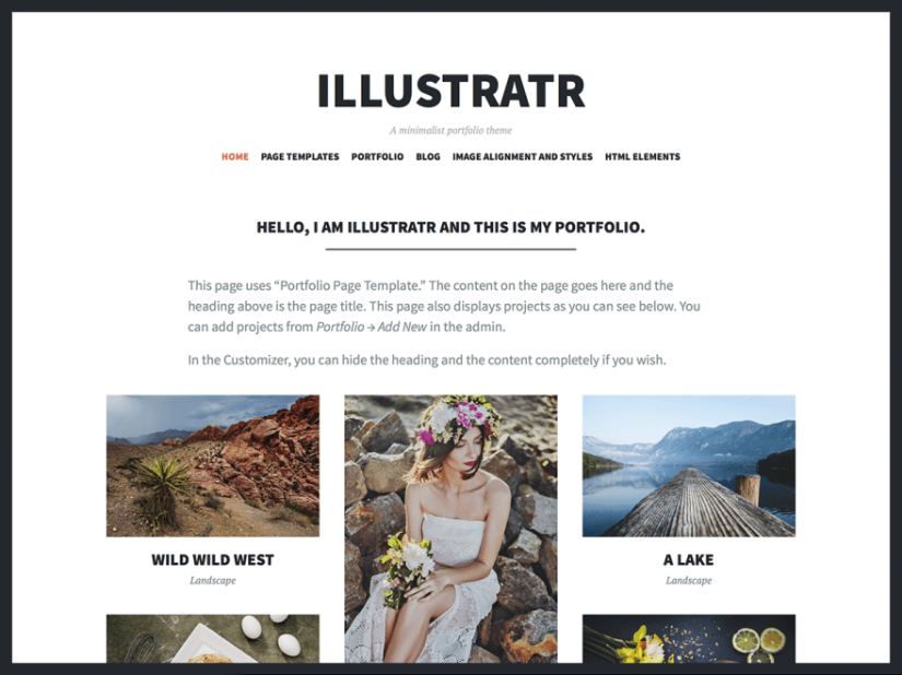 theme illustratr by automattic documentation support and customization