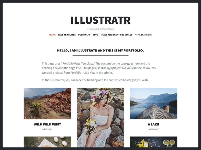 theme illustratr by automattic documentation support and customization
