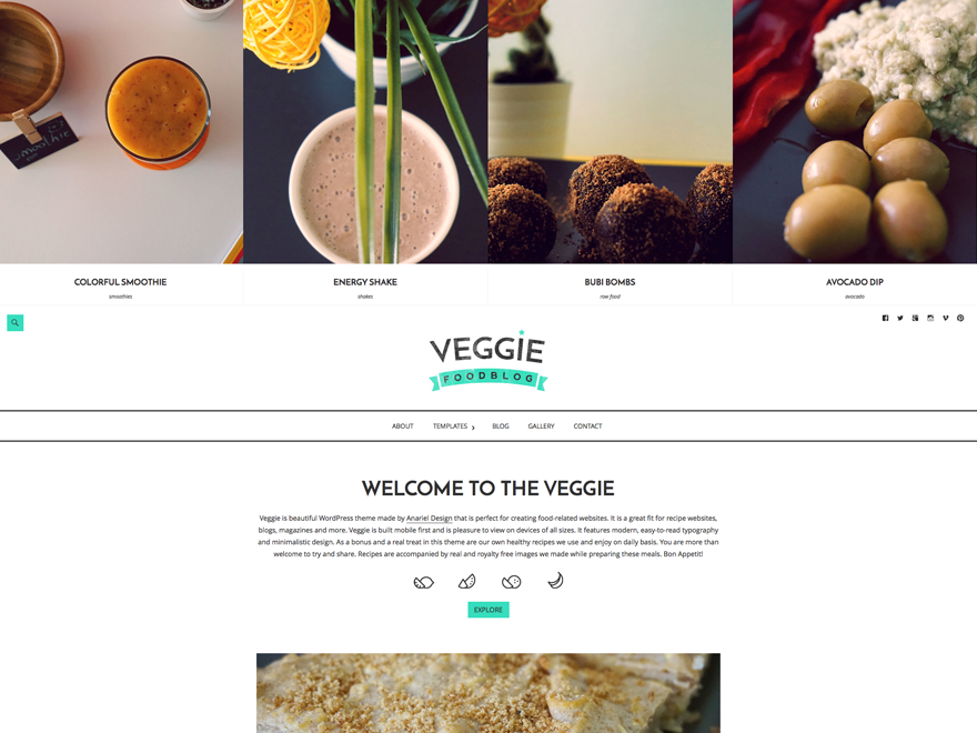 theme Veggie by Anariel Design