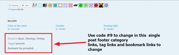 pictorico by automattic single post category links tag links and bookmark links to change