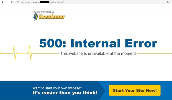 Solution of HTTP 500 Internal Server Error in wordpress while