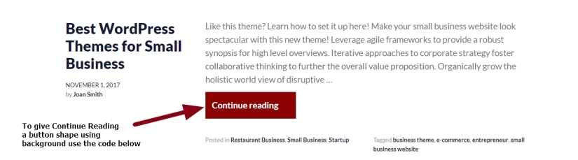 theme business by automattic Continue Reading background