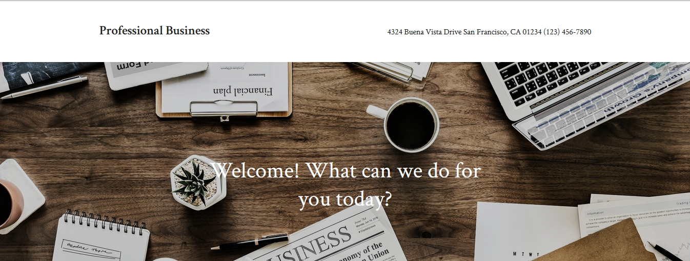 Professional Business By Automattic child theme for accounting law and consultancy firm