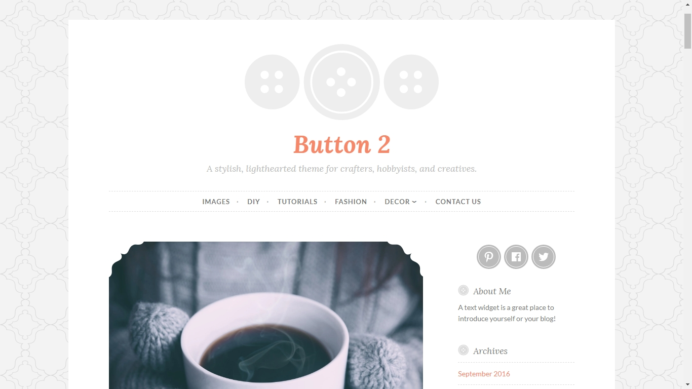 Button 2 by Automattic Modifications support and customization css
